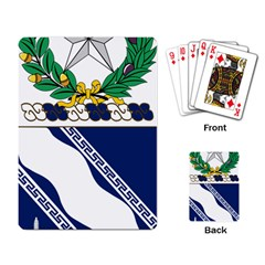 Coat Of Arms Of United States Army 144th Infantry Regiment Playing Cards Single Design (rectangle) by abbeyz71
