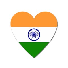 Flag Of India Heart Magnet by abbeyz71
