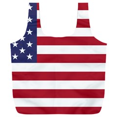 Flag Of The United States Of America  Full Print Recycle Bag (xxxl)