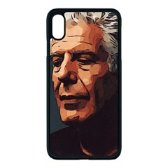 Anthony Bourdain Artwork Iphone Xs Max Seamless Case (black)