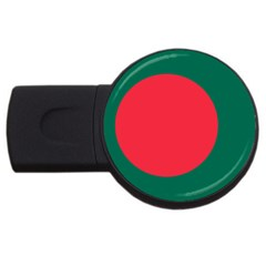 Flag Of Bangladesh Usb Flash Drive Round (4 Gb) by abbeyz71