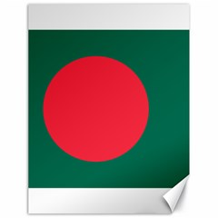 Flag Of Bangladesh Canvas 18  X 24  by abbeyz71