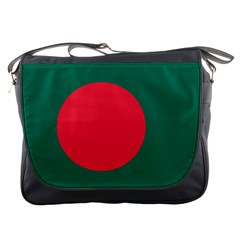 Flag Of Bangladesh Messenger Bag by abbeyz71