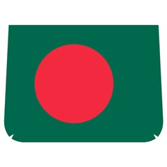 Flag Of Bangladesh Buckle Messenger Bag
