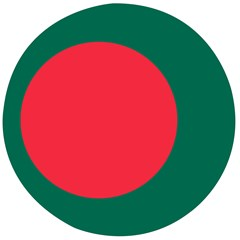 Flag Of Bangladesh Wooden Bottle Opener (round) by abbeyz71