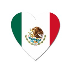Flag Of Mexico Heart Magnet by abbeyz71