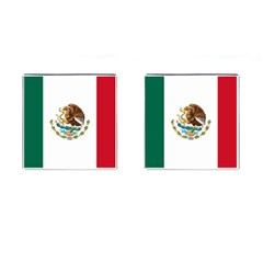 Flag Of Mexico Cufflinks (square) by abbeyz71