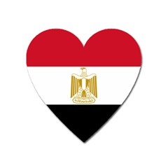 Flag Of Egypt Heart Magnet by abbeyz71