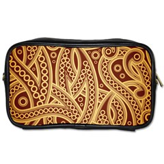 Fine Pattern Toiletries Bag (one Side) by Sobalvarro