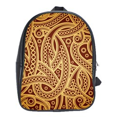 Fine Pattern School Bag (xl) by Sobalvarro