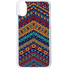 Untitled Iphone Xs Seamless Case (white) by Sobalvarro