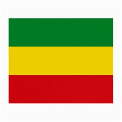 Current Flag Of Ethiopia Small Glasses Cloth by abbeyz71