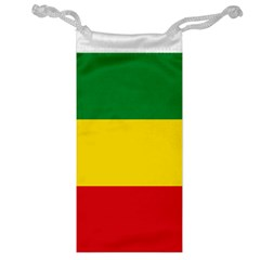 Current Flag Of Ethiopia Jewelry Bag by abbeyz71