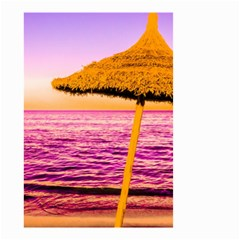Pop Art Beach Umbrella  Small Garden Flag (two Sides) by essentialimage