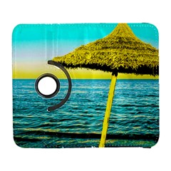 Pop Art Beach Umbrella  Samsung Galaxy S  Iii Flip 360 Case by essentialimage