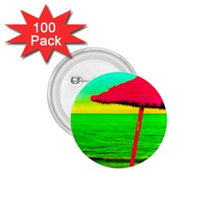 Pop Art Beach Umbrella 1 75  Buttons (100 Pack)  by essentialimage