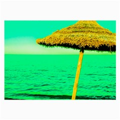 Pop Art Beach Umbrella  Large Glasses Cloth (2 Sides)