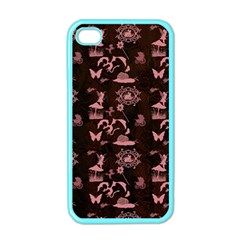 Cute Fairytale Patternfairytalepattern Iphone 4 Case (color) by FantasyWorld7