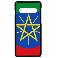 Current Flag Of Ethiopia Samsung Galaxy S10 Seamless Case(black)