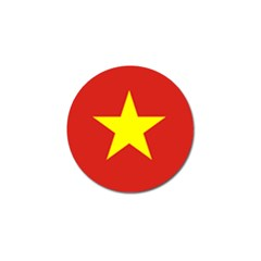 Flag Of Vietnam Golf Ball Marker (10 Pack) by abbeyz71