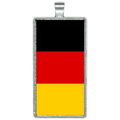 Flag Of Germany Rectangle Necklace by abbeyz71