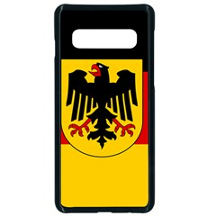 Sate Flag Of Germany  Samsung Galaxy S10 Seamless Case(black)
