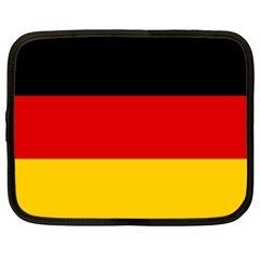 Flag Of Germany Netbook Case (large) by abbeyz71