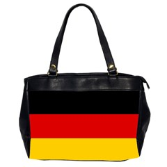 Flag Of Germany Oversize Office Handbag (2 Sides) by abbeyz71