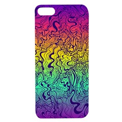Psychedelic Waves Rainbow Apple Iphone 7/8 Tpu Uv Case