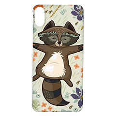 Raccoon On The Meadow Iphone X/xs Soft Bumper Uv Case