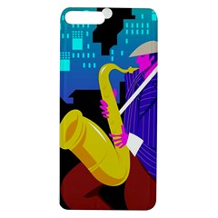 Man Playing Saxophone Apple Iphone 7/8 Plus Tpu Uv Case
