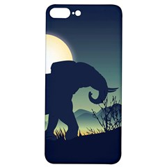Elephant Silhouette Iphone 7/8 Plus Soft Bumper Uv Case by trulycreative