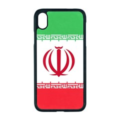 Flag Of Iran Iphone Xr Seamless Case (black)