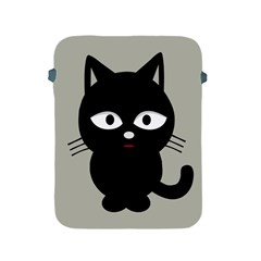 Cat Pet Cute Black Animal Apple Ipad 2/3/4 Protective Soft Cases