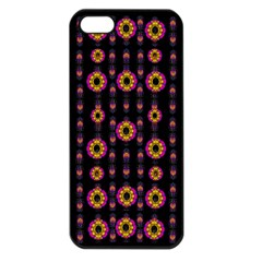 Fantasy Flowers In New Freedom Iphone 5 Seamless Case (black) by pepitasart