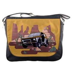 Suv Car Messenger Bag by trulycreative