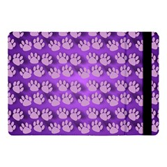 Pattern Texture Feet Dog Purple Apple Ipad 9 7