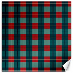 Pattern Texture Plaid Canvas 20  X 20