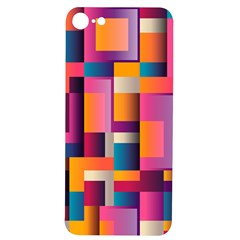 Abstract Background Geometry Blocks Iphone 7/8 Soft Bumper Uv Case by AnjaniArt