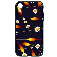 Flower Buds Floral Background Iphone Xr Soft Bumper Uv Case by HermanTelo