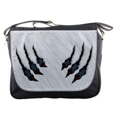 Claw Scratch Marks Messenger Bag