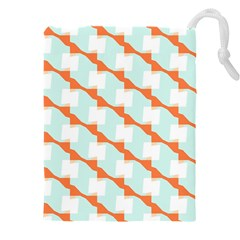 Wallpaper Chevron Drawstring Pouch (4xl)
