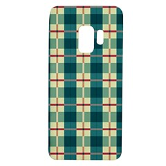 Pattern Texture Plaid Grey Samsung Galaxy S9 Tpu Uv Case by Mariart