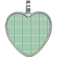 Background Digital Texture Heart Necklace by HermanTelo