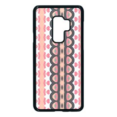 Wallpaper Cute Pattern Samsung Galaxy S9 Plus Seamless Case(black)