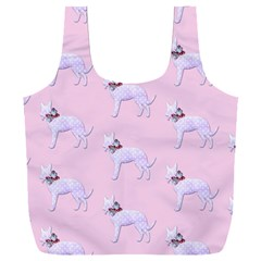 Dogs Pets Anima Animal Cute Full Print Recycle Bag (xxxl)