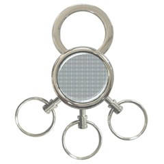 Pattern Shapes 3 Ring Key Chain