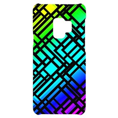 Background Texture Colour Samsung S9 Black Uv Print Case by HermanTelo