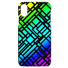 Background Texture Colour Iphone X/xs Black Uv Print Case