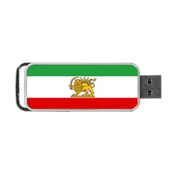 State Flag Of Iran, 1964–1980 Portable Usb Flash (two Sides) by abbeyz71